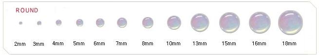 cabochon round